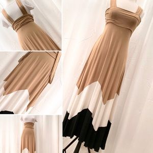 Convertible Maxi Skirt/Suspender Dress